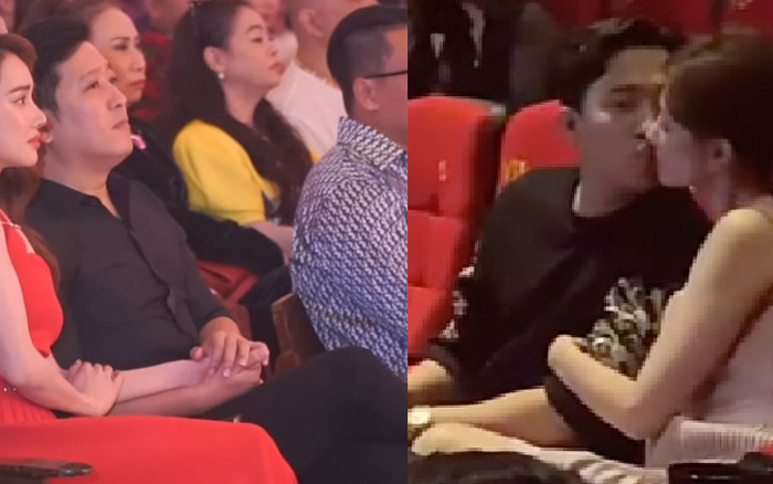 """Trấn Thành, Trường Giang gây sốt với cách """"cưng"""" vợ chốn đông người: ..."""