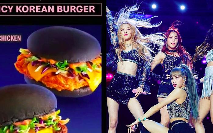 McDonald's ra mắt loại burger lấy cảm hứng từ BLACKPINK, fan thắc mắc sao nguyên chiếc ...