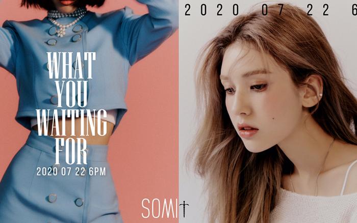 """Single comeback của Somi trùng tên với ca khúc """"hụt"""" của ..."""