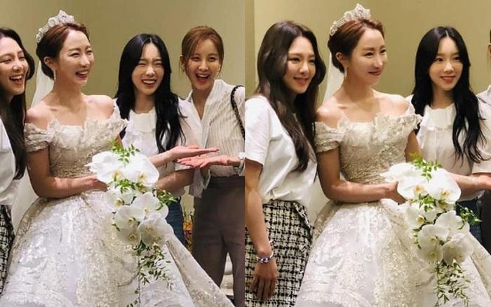 Hậu trường SNSD đi đám cưới: Nhan sắc Taeyeon và em út Seohyun không ...