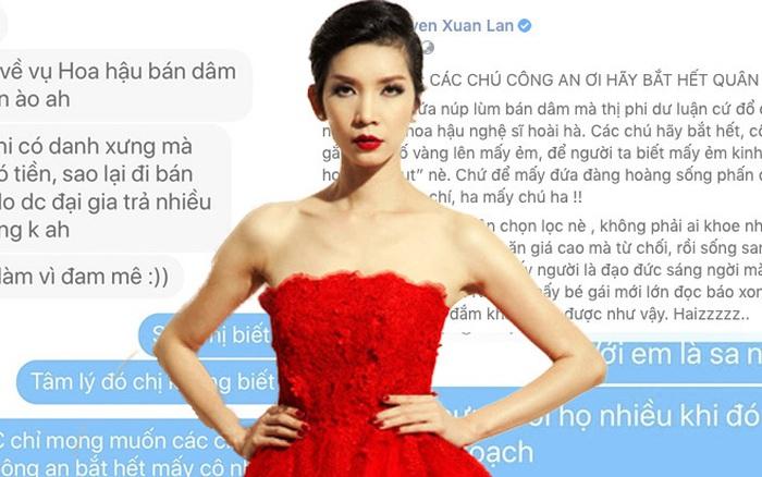 """Siêu mẫu Xuân Lan nêu quan điểm: """"Đừng đánh đồng người ..."""