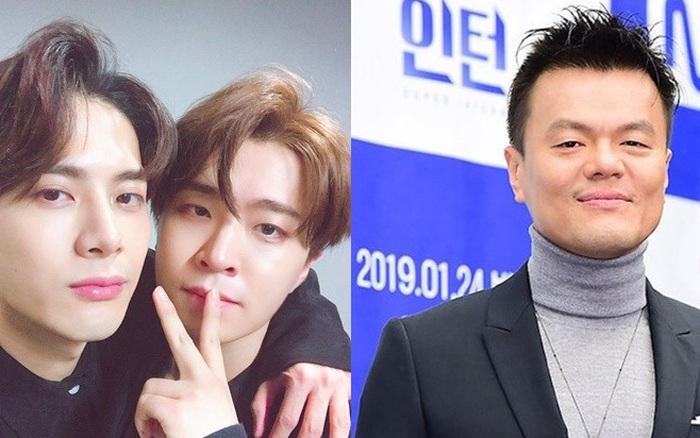 """Jackson (GOT7) từng """"cà khịa"""" lại JYP khi vị Chủ tịch """"dám"""" ..."""