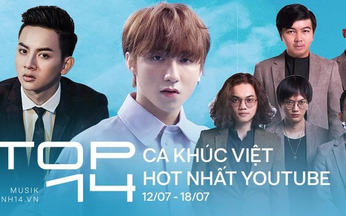 14 ca khúc Việt hot nhất Youtube tuần qua: Sơn Tùng M-TP giữ vững ngôi vương, ...