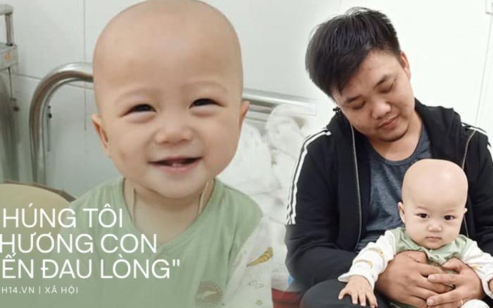 """Em bé 14 tháng tuổi mang trong mình 2 loại ung thư: """"Chừng ..."""