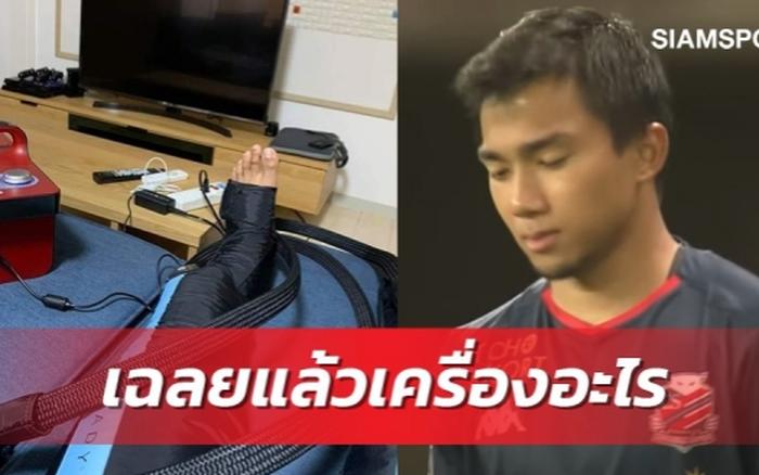 """Cầu thủ triệu đô của Thái Lan khoe """"đồ chơi"""" mới, fan tưởng bị chấn ..."""
