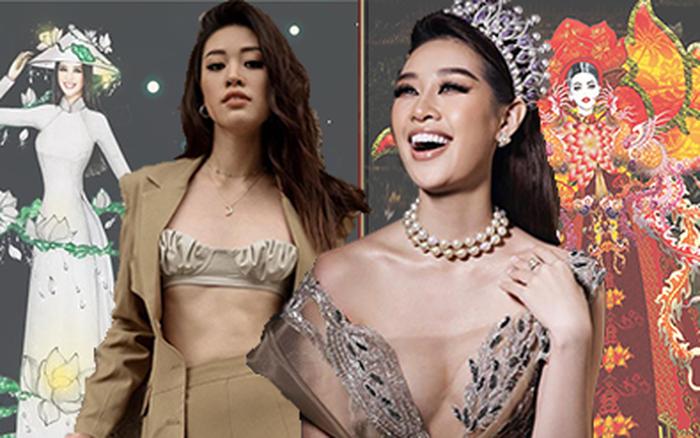 """16 bài thi """"All Stars"""" Quốc phục cho Khánh Vân: Chủ nhân bộ ..."""