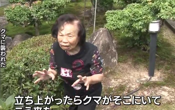 """Cụ già 82 tuổi hỗn chiến với gấu hoang nặng 150kg: """"Bà đấm nó văng ..."""