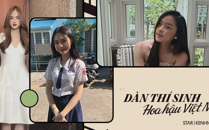 Dàn thí sinh Hoa hậu Việt Nam 2020 đi thi và ngoài đời: Đổi ...