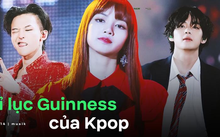 BTS, BLACKPINK và những idol Kpop lập nên kỉ lục Guinness thế giới
