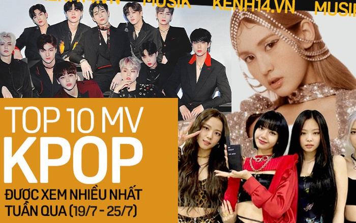 10 MV Kpop được xem nhiều nhất tuần: X1 đã tan rã bỗng quay trở lại, Somi ...