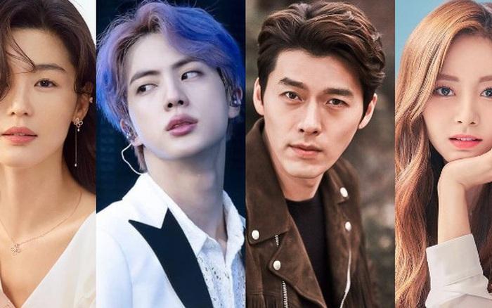 """Top 10 sao Hàn khí chất quý tộc nhất: Hyun Bin hạng thấp bất ngờ, """"mợ chảnh"""" Jeon Ji Hyun lại bị mỹ nam BTS vượt mặt?"""
