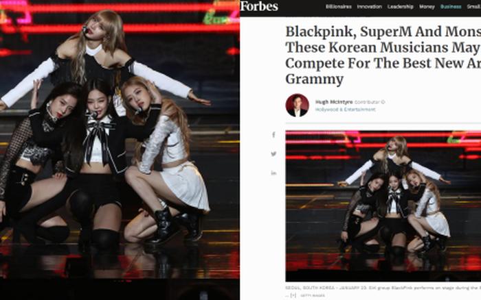 BLACKPINK được Forbes dự đoán có tiềm năng nhận đề cử