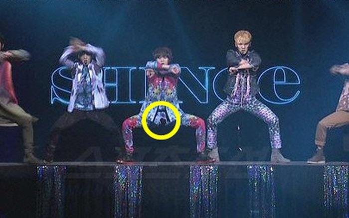 Sao Hàn và sự cố biểu diễn kinh hoàng: Taemin rách quần, có nhóm nữ suýt bị hất khỏi sân khấu nhưng hãi nhất là người ngã từ độ cao 4 mét