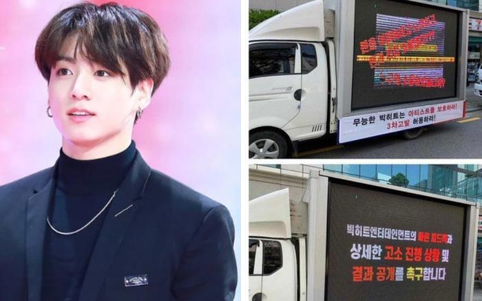 Fan BTS thuê xe tải kiện công ty nhưng lại gây tranh cãi trong fandom