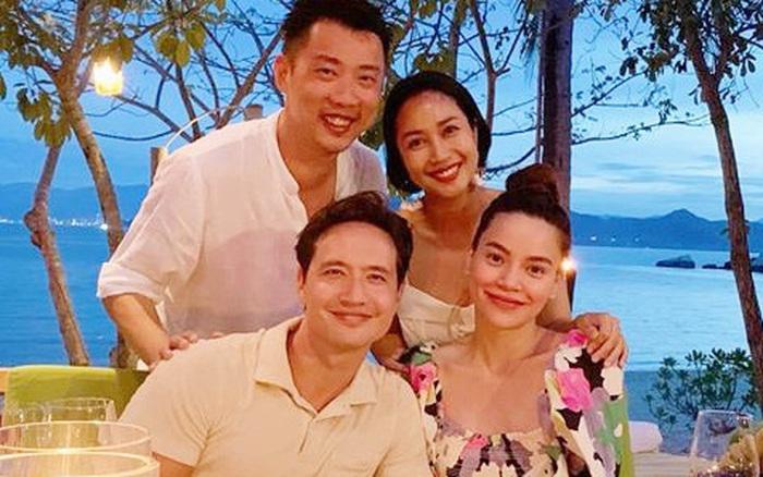 Ốc Thanh Vân hội ngộ gia đình Hà Hồ trong kì nghỉ sang chảnh, chỉ 1 ...