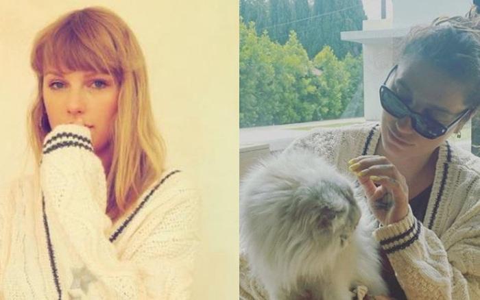 Taylor Swift tặng áo cardigan cho dàn sao Hollywood để quảng bá MV mới nhưng ý nghĩa đằng sau mới thực sự ấm lòng