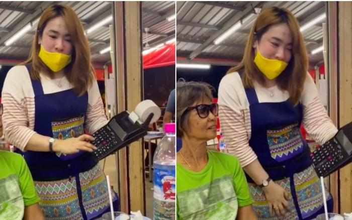 """Bấm máy tính tiền """"nhanh hơn tốc độ ánh sáng"""", một quán ăn ở Thái Lan khiến dân mạng nghi ngờ vì """"diễn quá lố""""?"""