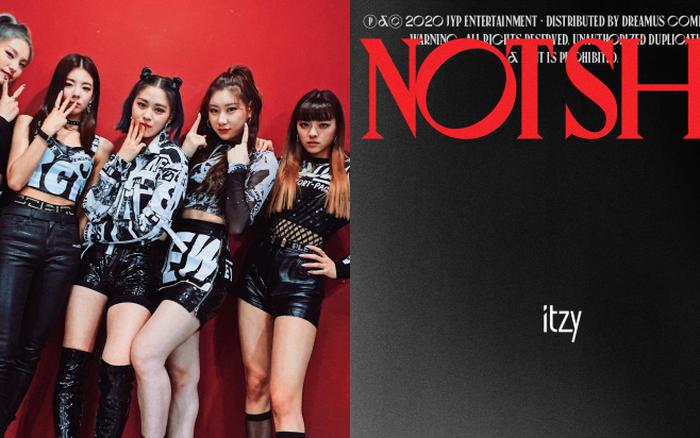 """ITZY tung trailer siêu xịn cho album """"Not Shy"""" nhưng JYP thiết kế poster muôn đời vẫn """"phèn"""" làm fan thấy... xấu hổ giùm!"""