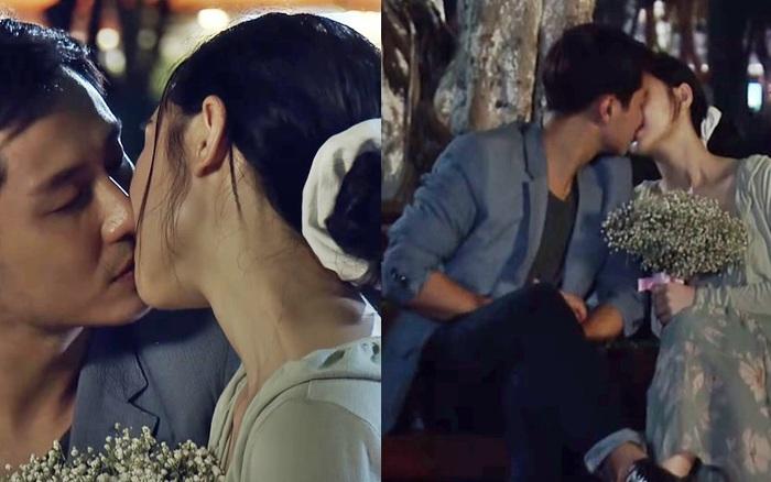 """Quỳnh Kool vã mồ hôi vì phải hôn """"anh ..."""