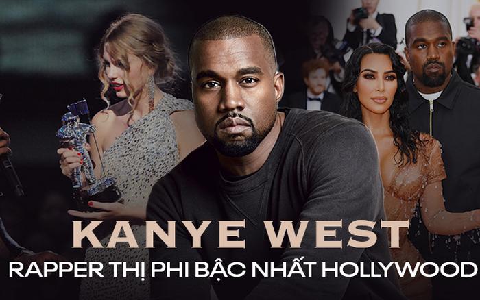 Ứng cử viên Tổng thống Mỹ Kanye West: Con rể đế chế Kardashian, thiên tài thị ...