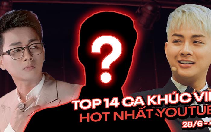 14 ca khúc Việt hot nhất YouTube tuần: chuỗi ngôi vương của Erik bị phá vỡ bởi ...