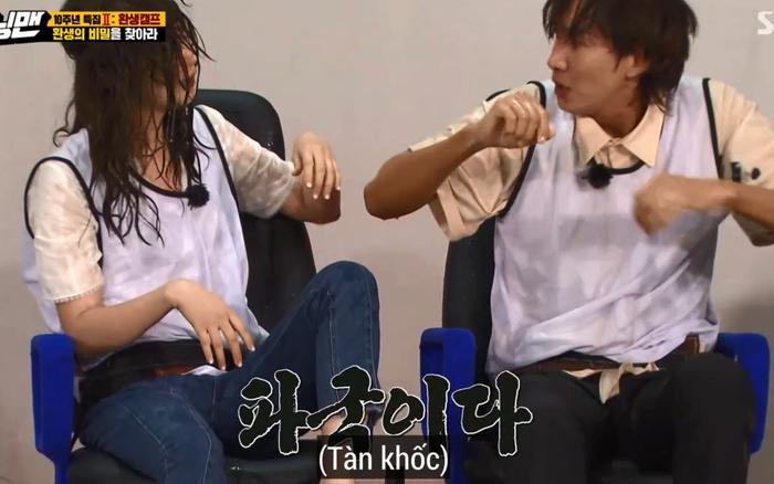 """2 """"thánh chơi dơ"""" chung team: Jeon So Min nhúng cả bàn ..."""