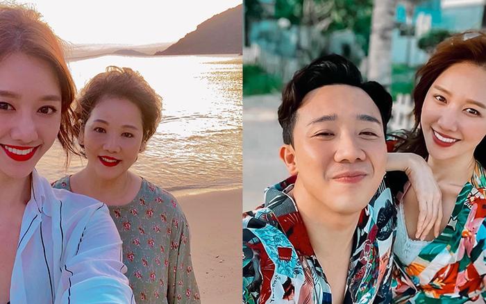 Đi du lịch với mẹ nhưng Hari Won lại kêu nhớ Trấn Thành da diết, hoá ra ...