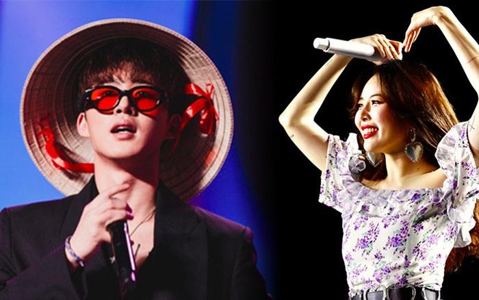 Khi sao Kpop diễn tại Việt Nam: HyunA, iKON, WINNER gây nức lòng fan Việt, Super Junior ...