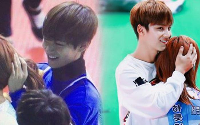 Cứ ngỡ đây là cô gái may mắn nào được V (BTS), Mingyu ...