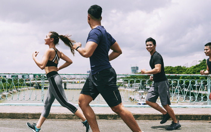Những hình ảnh đầu tiên trên đường đua cực nóng của Virtual WOW Marathon Hội An 2020