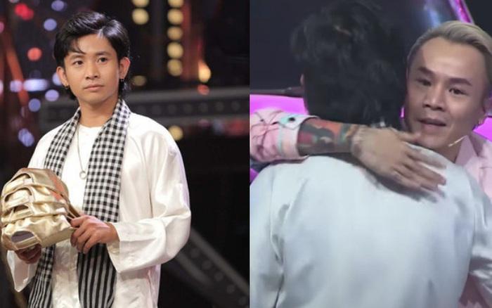 Dân mạng tràn vào phần thi của Ricky Star và đồng lòng nhắc tới Binz, xúc động trước câu nói