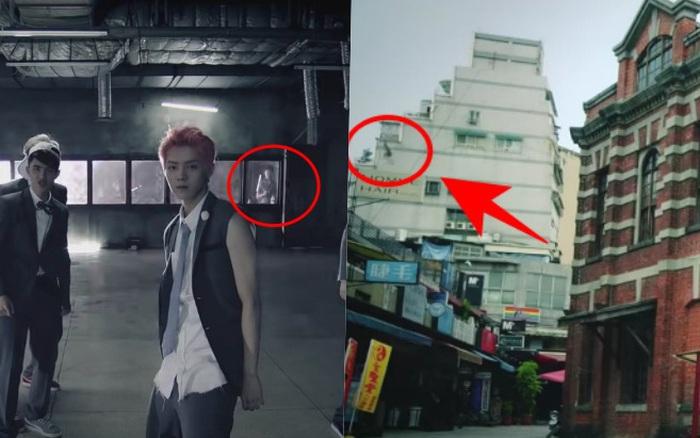 """Góc """"rợn tóc gáy"""": MV EXO xuất hiện bóng ma nam sinh trong lớp học bỏ hoang, cô gái tóc dài trong MV nhóm rock Đài Loan gây hoang mang"""