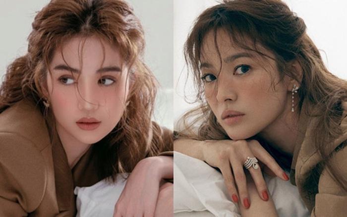 Ngọc Trinh khiến netizen ngẩn ngơ vì quá xinh trong loạt ảnh phong cách mới, nhưng sao na ná Song Hye Kyo thế này?