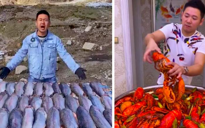 """Trào lưu """"ăn thùng uống vại"""" của MXH Trung Quốc bị dân mạng quốc tế chỉ trích thậm tệ: câu like, câu views đã đi quá xa"""