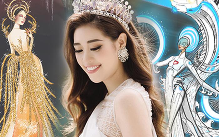 Lộ diện Top 4 bảng tự do và All Star Quốc phục cho Khánh Vân tại Miss Universe 2020: Có bộ gây tranh cãi dữ dội!