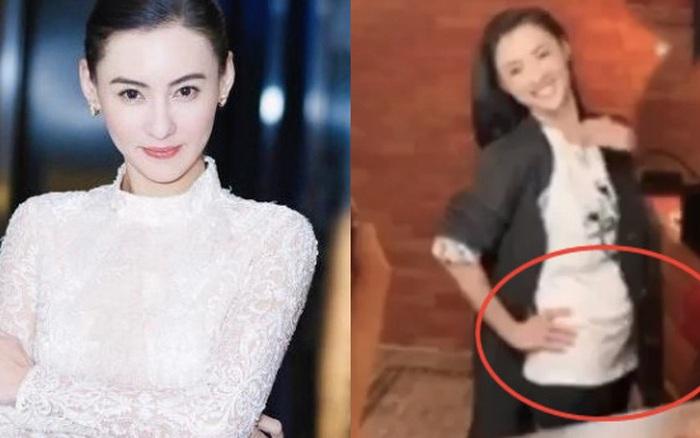 Trương Bá Chi bất ngờ lộ vòng 2 lớn, mang thai lần thứ 4 chỉ sau hơn 1 năm sinh quý tử cho người tình bí ẩn?