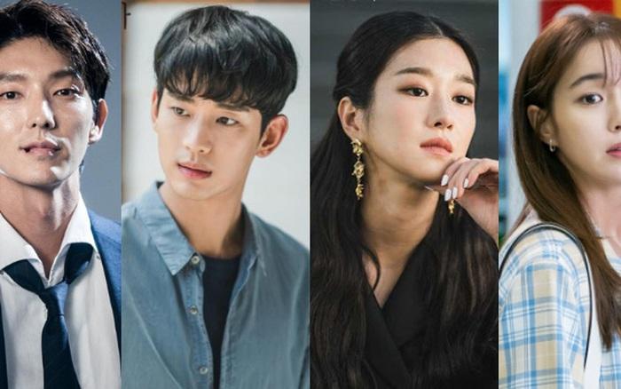 Tranh cãi BXH diễn viên Hàn hot nhất: Hyun Bin - Song Hye Kyo mất dạng, Kim Soo Hyun - Seo Ye Ji hay Lee Jun Ki lên ngai vàng?
