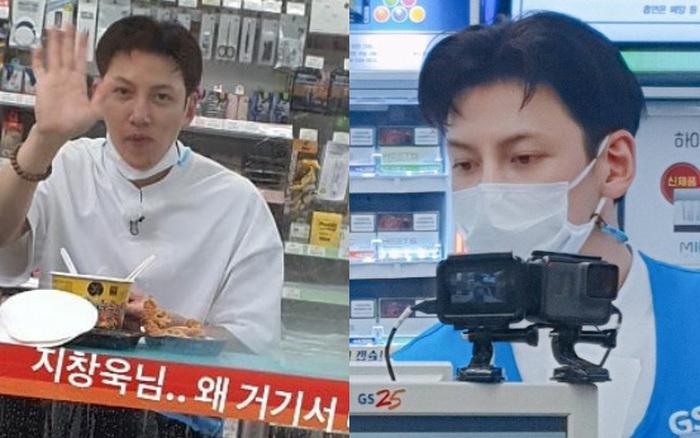 Ji Chang Wook gây bão khi lộ ảnh thực sự đi làm thêm ở cửa hàng tiện lợi, mặt mộc 100% khiến dân tình choáng nhẹ