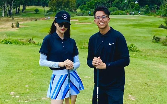 Hương Giang lần đầu khoe clip đánh golf có cả bạn trai Matt Liu lên mạng xã hội - người ấy là ai