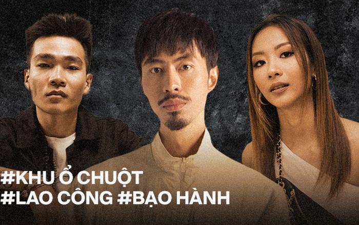 Quá khứ cơ cực của dàn rapper Việt quyền lực: Wowy - Đen Vâu khổ sở vì nghèo khó, xót xa nhất cảnh Suboi bị bạo hành năm 17 tuổi