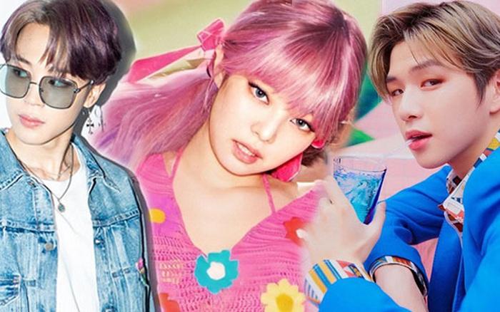 """BXH 30 idol hot nhất hiện nay: BTS - BLACKPINK đối đầu gay cấn, nhưng bất ngờ hơn cả 2 idol chen giữa đôi """"quái vật"""""""
