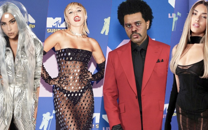 Thảm đỏ lạ nhất lịch sử VMAs: Miley Cyrus hở bạo, Lady Gaga chặt chém với