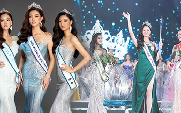 Lương Thuỳ Linh cùng 2 Á hậu kỷ niệm 1 năm đăng quang Miss World Việt Nam: Top 3 nay đã thay đổi ra sao?