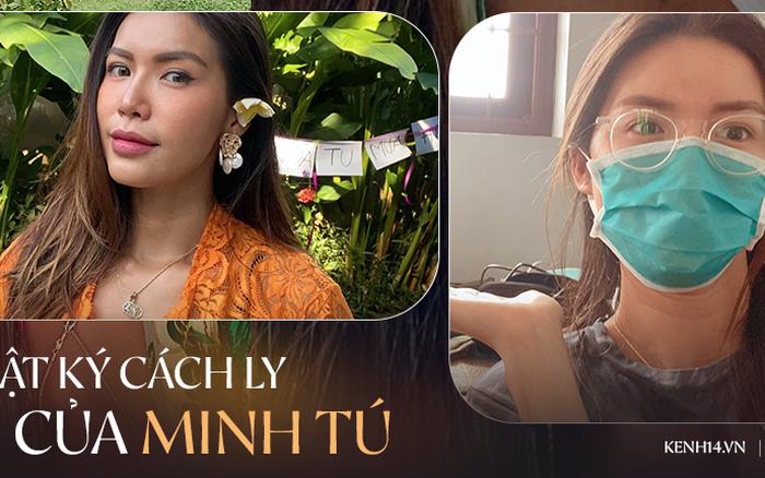 Hành trình 6 ngày Minh Tú rời Bali về Việt Nam cách ly: