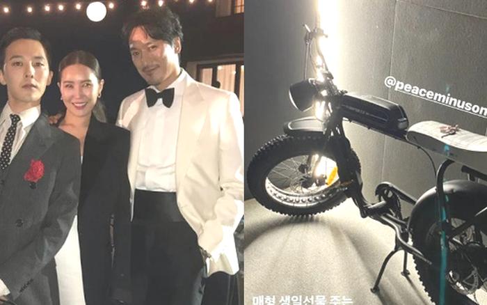 Sướng nhất tài tử Kim Min Joon: Sinh nhật được em vợ G-Dragon (BIGBANG) tặng hẳn xế xịn,