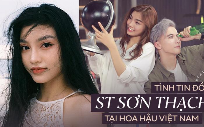 Tình tin đồn của ST Sơn Thạch tham gia Hoa hậu Việt Nam: Quán quân
