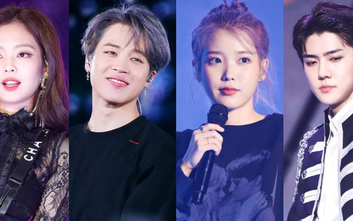 Tranh cãi BXH 25 sao Hàn hot nhất Weibo: EXO bất ngờ lấn lướt hẳn BTS, IU thắng thế BLACKPINK lẫn dàn sao nổi tiếng
