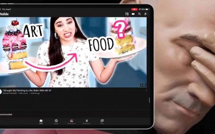 Hài hước: Bản cập nhật YouTube bị lỗi, giao diện xấu chưa từng có
