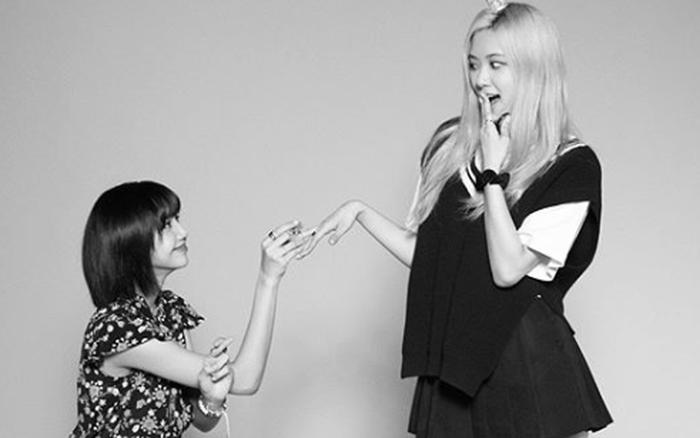Lisa công khai cầu hôn Rosé nhân dịp tròn 4 năm BLACKPINK debut làm fan