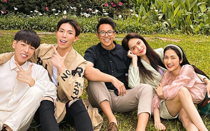 Matt Liu ngày càng thân với hội bạn của nhà gái Hương Giang, chắc suất